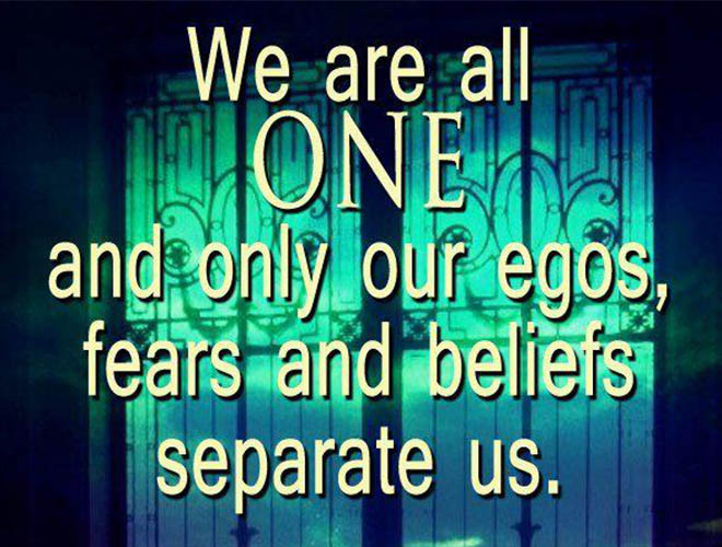 WE ARE ALL ONE only egos separate us Cum sa ii convingem pe cei dragi sa adopte o alimentatie sanatoasa?