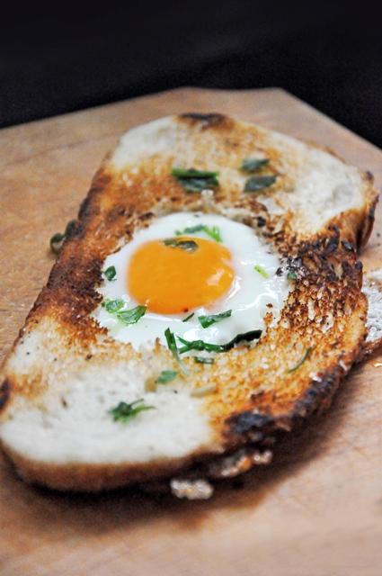 Egg-in-a-Hole breakfast recipe