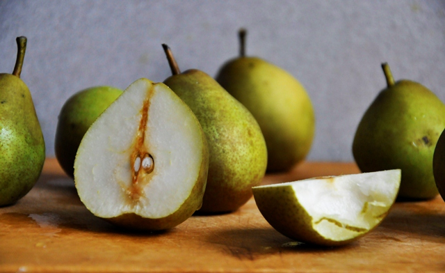 Green Sliced Pear