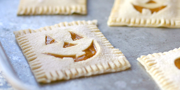 Pumpkin Poptarts Vegetarian Halloween Recipe