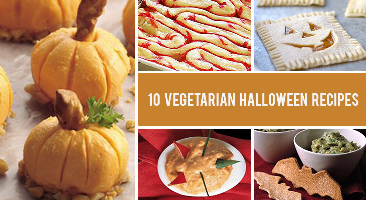 10 Spooky And Fun Vegetarian Halloween Recipes Gourmandelle
