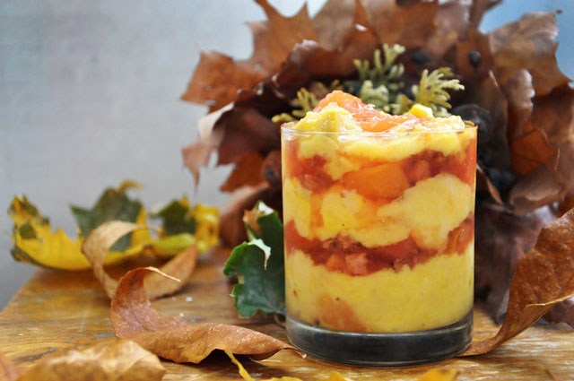 Budinca de gutui cu stafide Autumn Quince Pudding with Raisins Dessert