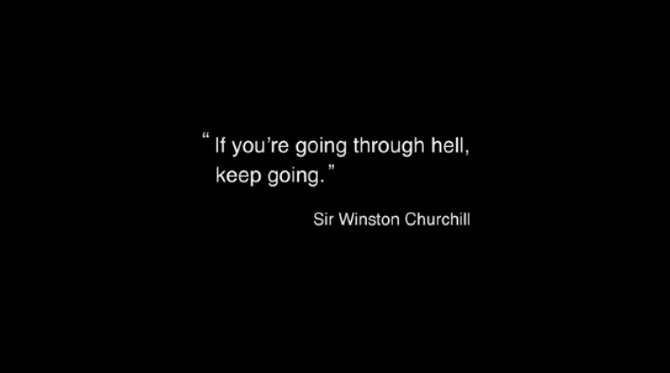 hell quote winston churchill
