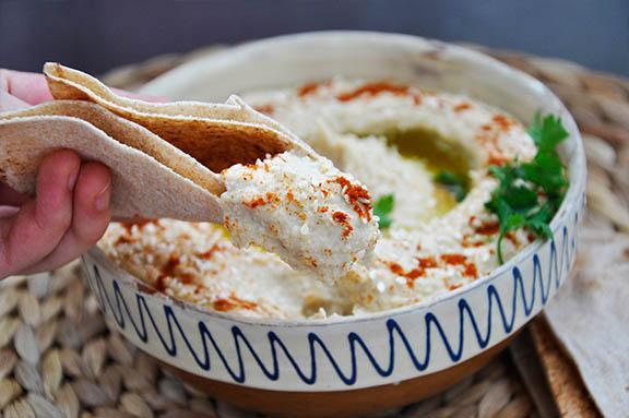 Humus simplu gata in doar 5 minute usor sanatos libanez