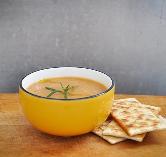 Creamy Carrot Soup with Ginger Recipe