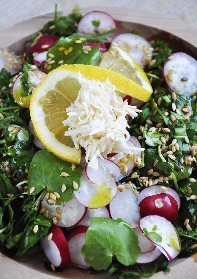 Spring Detox Salad healthy raw vegan