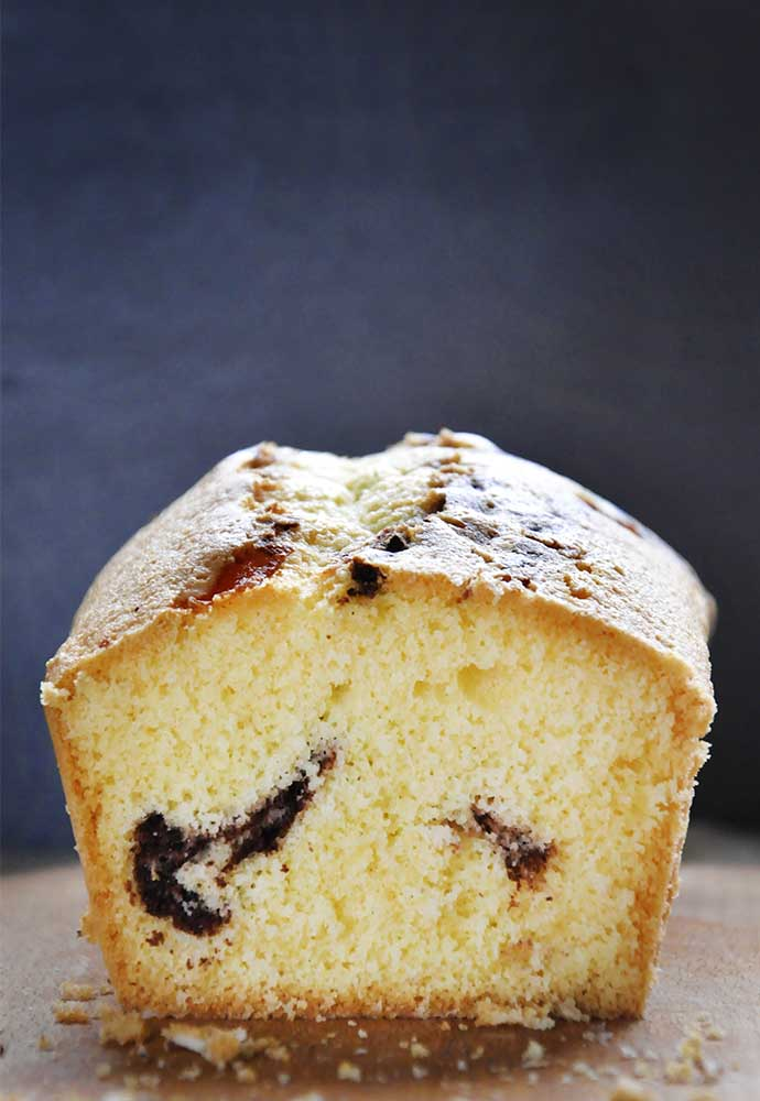 gluten-free sponge cake with Cocoa fluffy