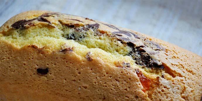 gluten-free sponge cake with Cocoa