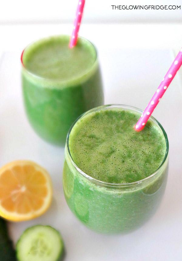 Bikini ready green detox smoothie