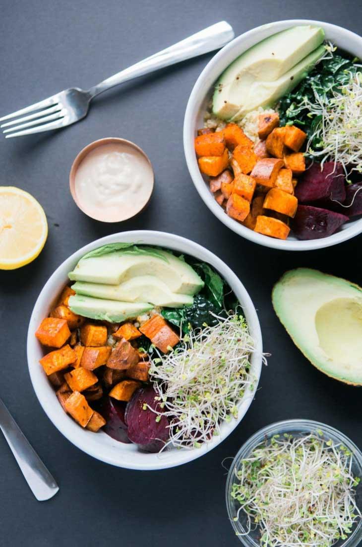 Vegan Detox Glow Bowl
