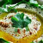 Wild Garlic Hummus Hummus cu leurda reteta