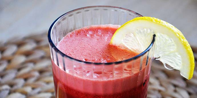 Ginger Beet Lemonade limonada sfecla