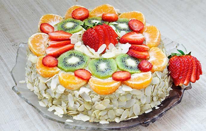 Gluten-Free Vanilla Cake