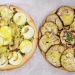 Gluten-Free Vegan Pizza fara gluten pesto vinete dovlecei