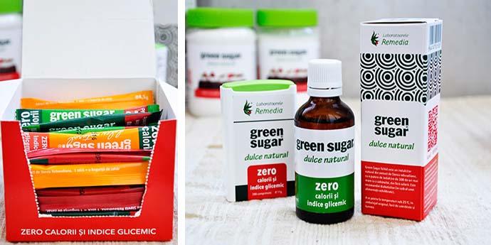 Green Sugar Remedia indulcitor natural