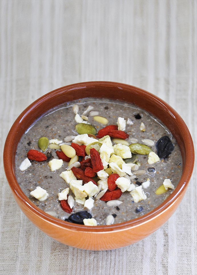 Kollath Breakfast Dejunul Kollath chia pudding