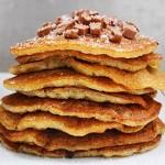 Best Gluten-Free Vegan Pancakes Clatite pufoase vegane fara gluten chocolate