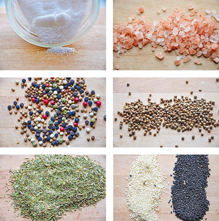 Veggie Burger Guide spices