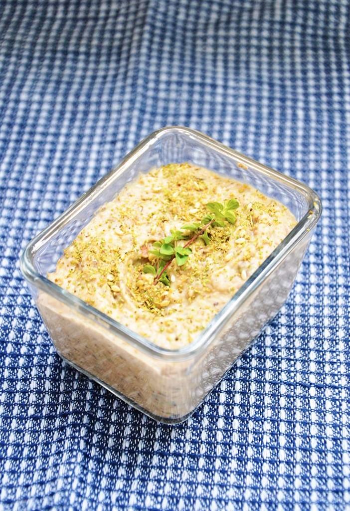 Kalamata White Bean Spread Fasole batuta cu masline vegan