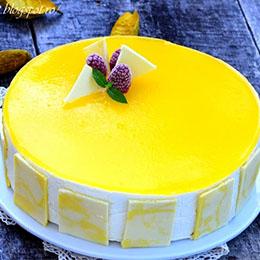 Tort cu mousse de mango si mousse de cocos_1