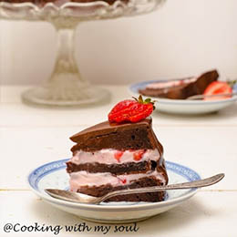 Tort de ciocolata fara gluten.w