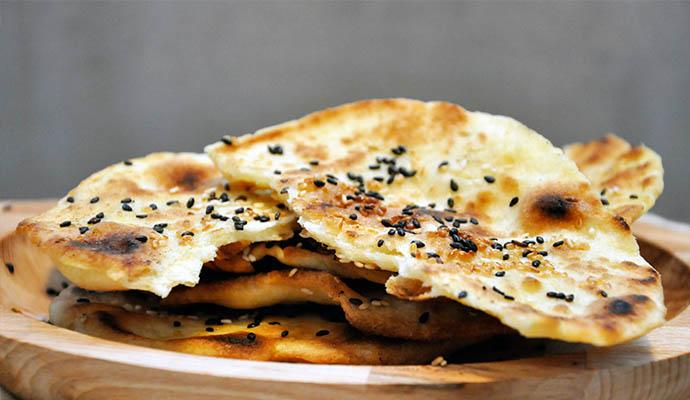 Gluten-Free Flatbreads with Sesame Parathas