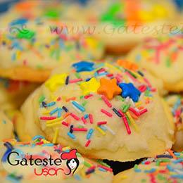 Biscuiti glazurati de Craciun fara gluten