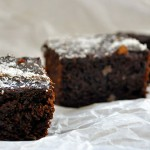 Gluten-Free Vegan Brownies Negrese fara gluten