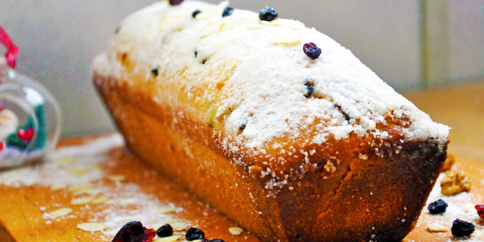 Gluten-Free Christmas Sweet Bread Chec festiv fara gluten reteta