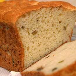 4 paine fara gluten cu masline si rozmarin