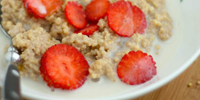 MAPLE MILLET PORRIDGE macrobiotic breakfast