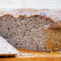 Paine rustica fara gluten cu seminte