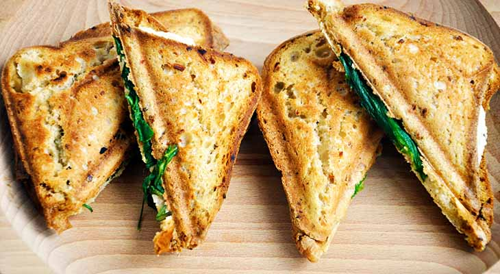 Grilled Vegan Cheese Sandwich