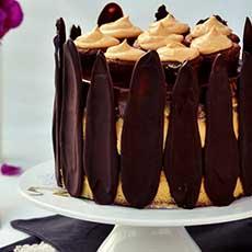 Tort fara gluten cu-ciocolata-portocale