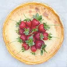 cheesecake cu capsuni fara gluten