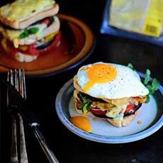 croque madame monsieur vegetarian fara gluten