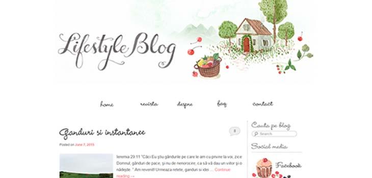 lifestyle bloguri vegetariene