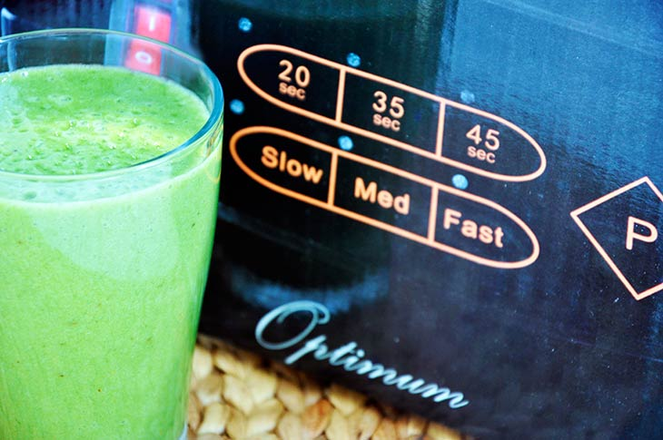 Green Barley Grass Smoothie