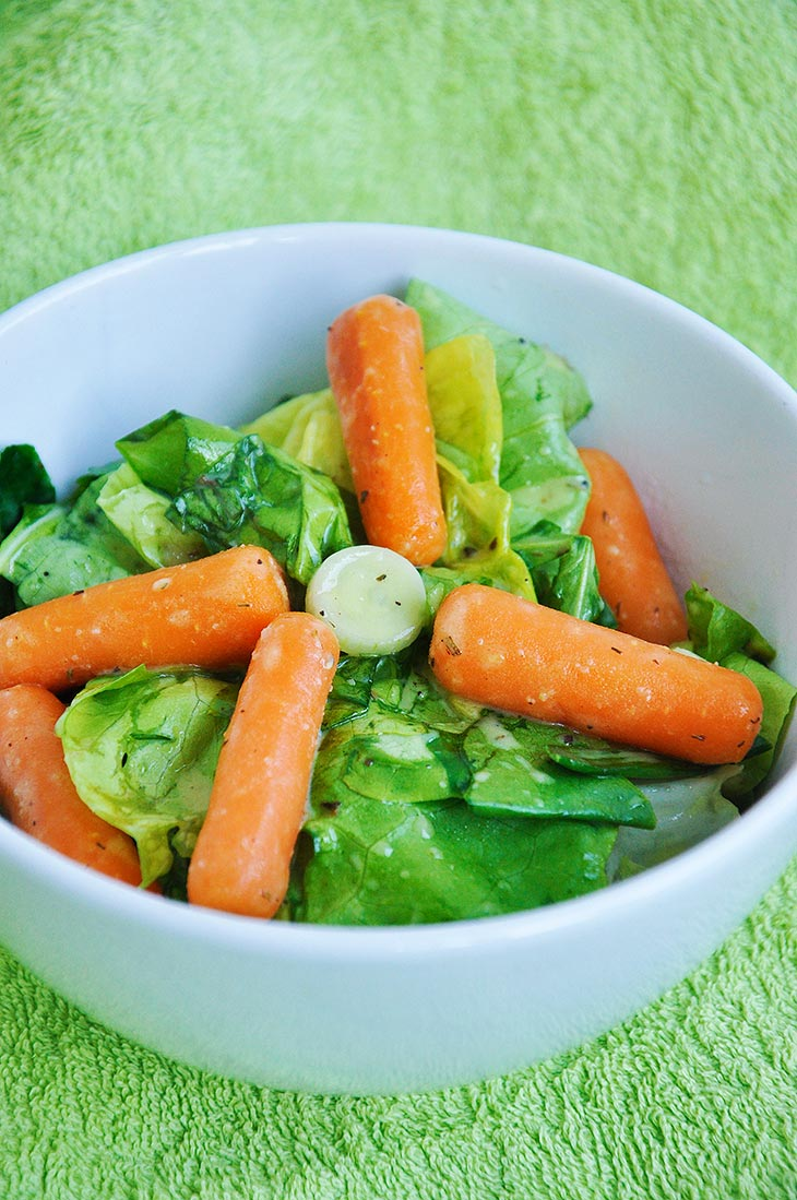 Baby Carrot Salad Recipe Vegan Salad Dressings