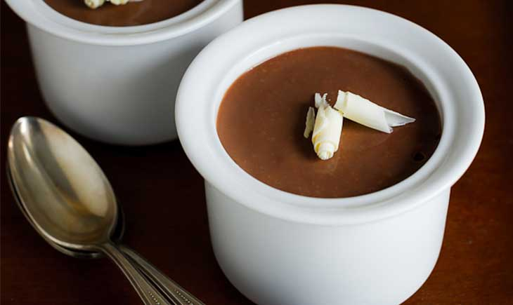 Chocolate hazelnut mousse