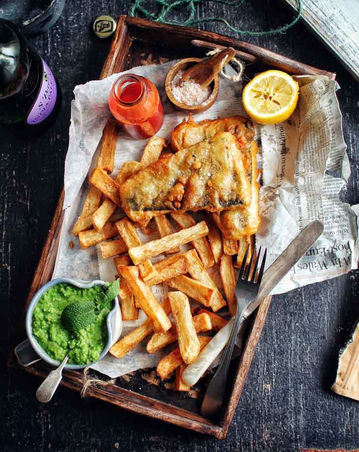 "Gaz's ""Fish & Chips"""