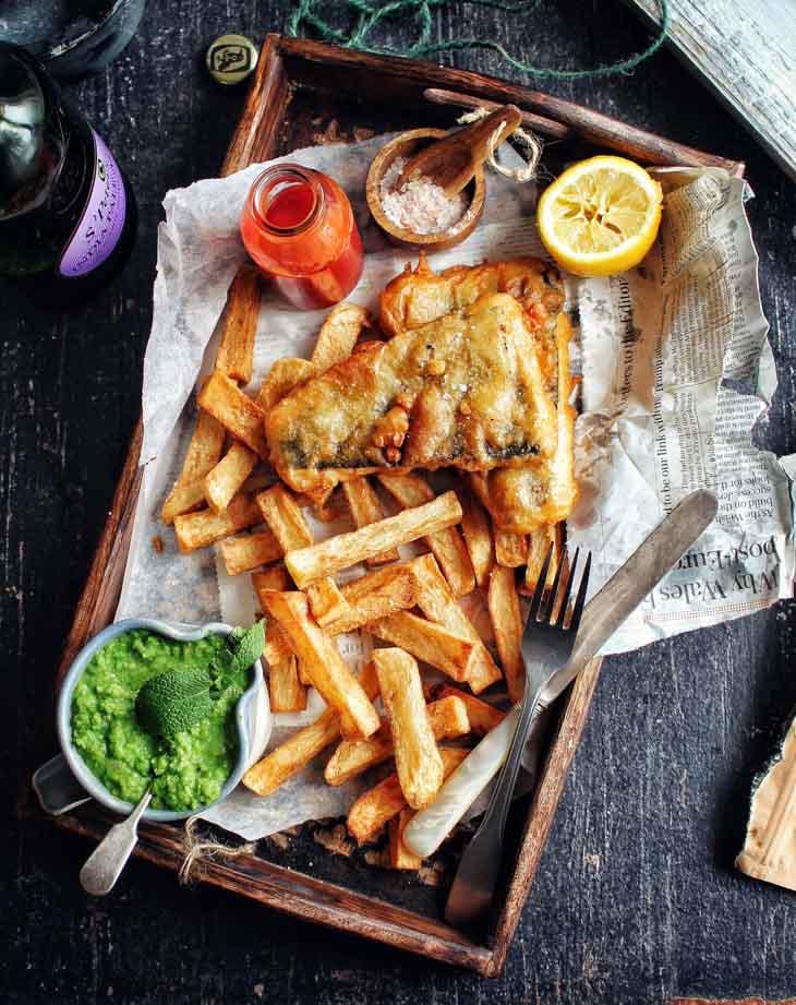 "Gaz's ""Fish & Chips"""