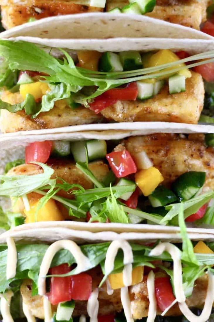 Vegan Tofu Fish Tacos
