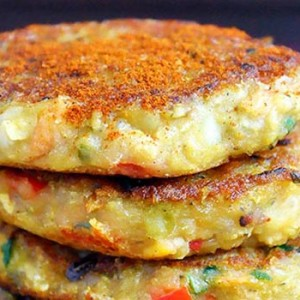 Vegan Lentil Cakes Patties Patties Chiftelute picante de linte