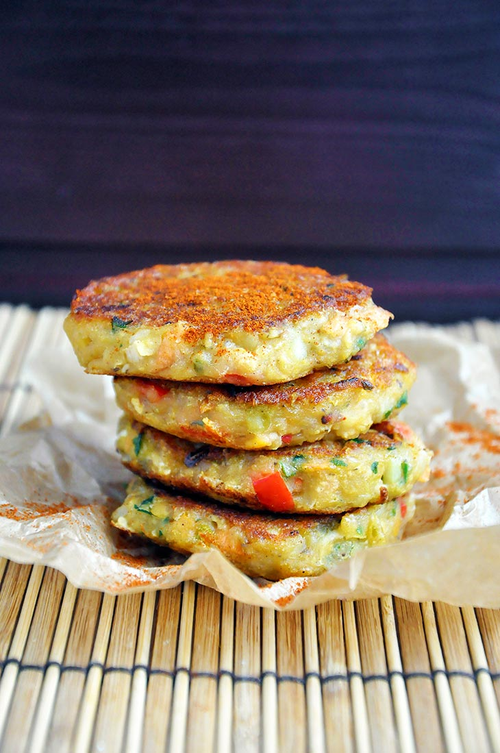 Vegan Lentil Cakes Patties