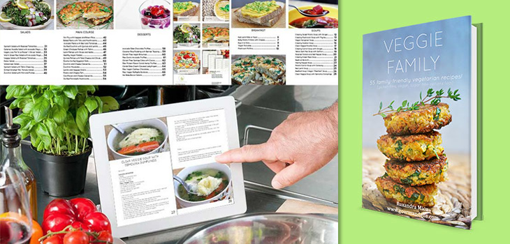 veggie family ebook Family Friendly Recipes