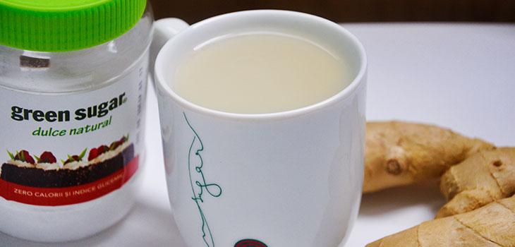 Natural Flu-Fighter Hot Drink bautura calda anti raceala-reteta