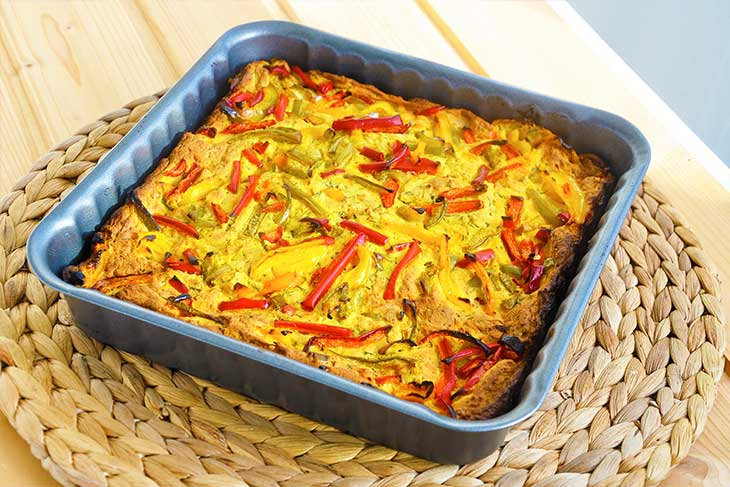vegan-quiche-with-peppers-Quiche vegan fara crusta-ardei-gras-fara-gluten