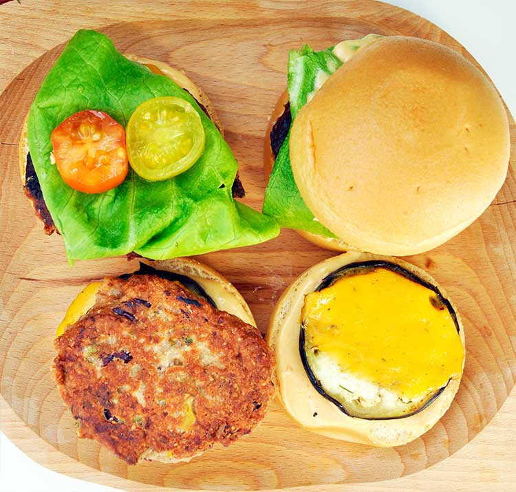 Protein-Rich Beans and Quinoa Sliders