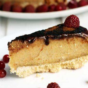 No Bake Peanut Butter Cake Tort cu Unt de Arahide